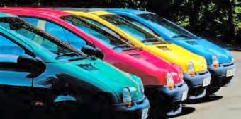 Les Renault Twingo