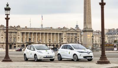 Renault ZOE et Nissan LEAF pour la COP 21