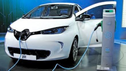 Zoe véhicule Renault électrique