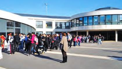 Le collège Le Village de Trappes (78)
