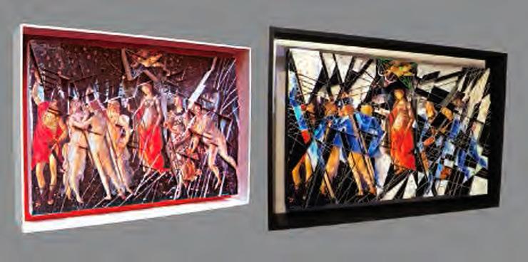 Le Printemps de Botticelli et Le rêve de Botticelli par GENZLING