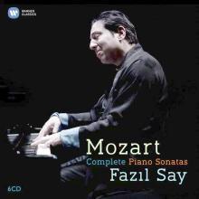 CD Intégrale sonate Mozart par Fazil Say