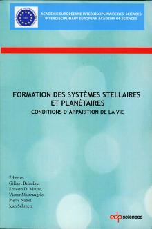 Livre : FORMATION DES SYSTÈMES STELLAIRES ET PLANÉTAIRES
