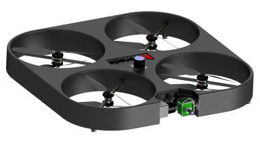 Drone avec positionnement laser embarqué. ( DONECLE)