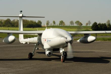 Le drone Patroller de Sagem.