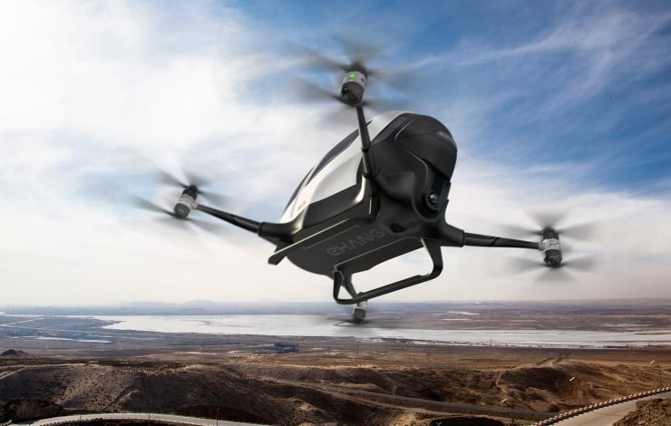 L'Ehang 184, premier drone de transport de passagers