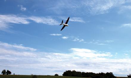 Drone Delair-Tech DT-26X en vol