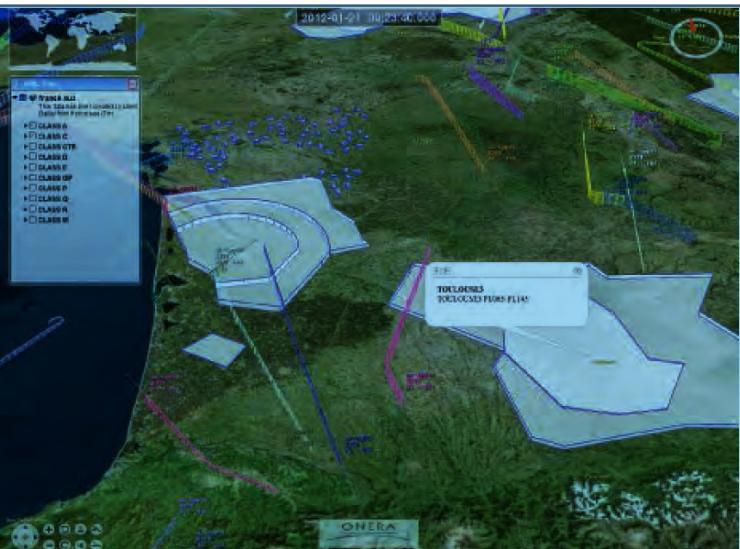 Simulation de concepts opérationnels d'insertion dans l'espace aérien