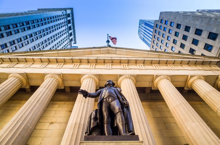 Wall-street comme référence de Banque