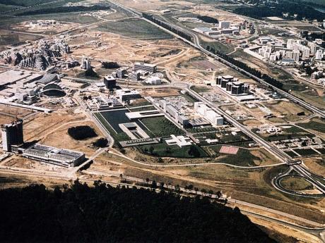 La ville nouvelle d'Evry en 1975