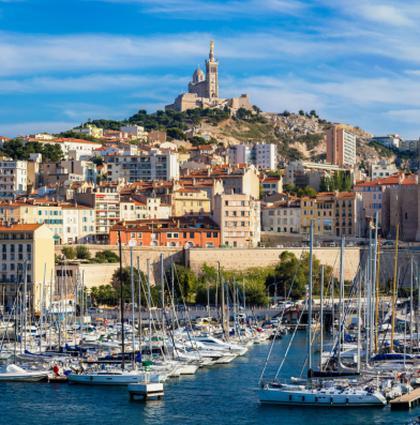 Marseille et le vieux port