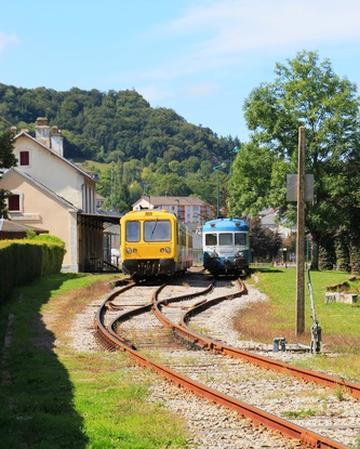 Trains sur des voies secondaires