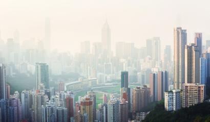 Air pollué en ville