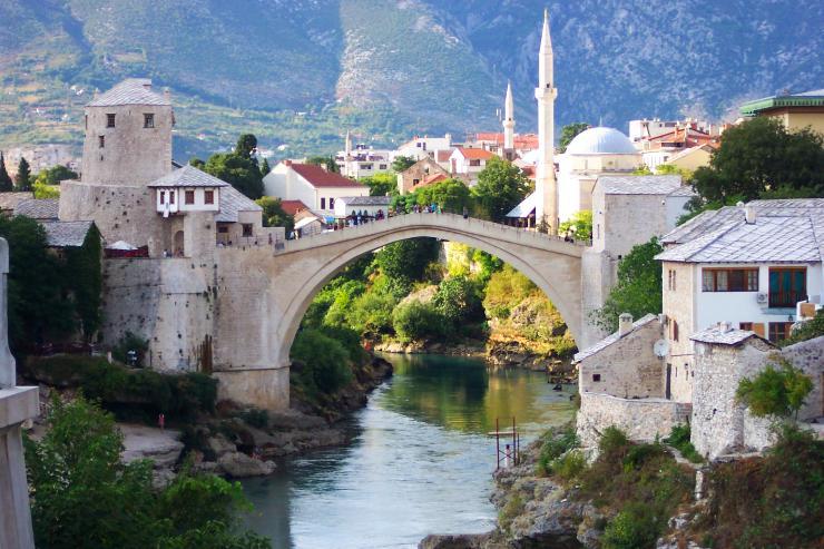 Le Vieux Pont de Mostar.