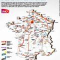 Les chantiers de la SNCF en France