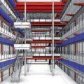 Maquette numérique de bâtiment