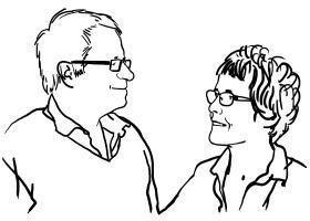 Portrait Jean-Michel CORON (75) et Claire VOISIN (ENS SÈVRES, 81)