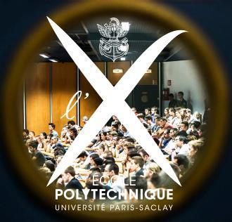 Logo X et Paris-Saclay
