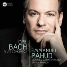 CD CARL PHILIPP EMANUEL BACH à la flute Emmanuel Pahud