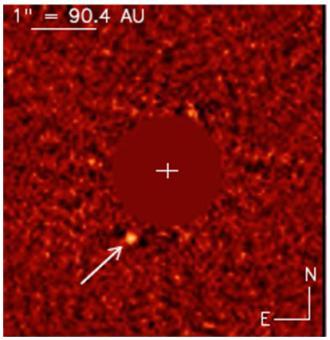 Une planète extrasolaire, HD 95098