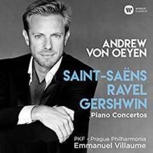 CD Andrew von Oeyen joue Saint-Saëns, Ravel et Gershwin