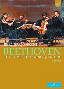 DVD les 16 quatuors de Beethoven par le quatuor Belcea