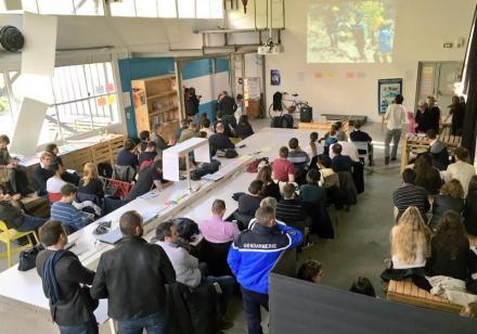 Atelier idéation à l'École polytechnique
