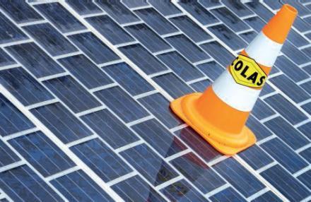 La route solaire de la société Wattway