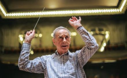 Lionel Stoleru, chef d'orchestre