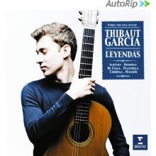 CD Latinos à la guitare Thibaut Garcia