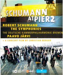 DVD les quatre symphonies de Schumann