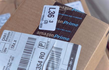 Colis de livraison Amazon