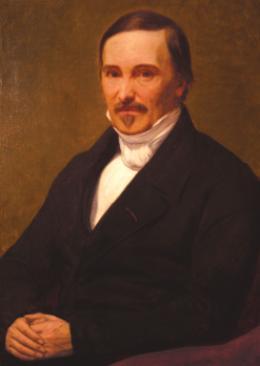 Portrait du général Poncelet (1807) par Ary Scheffer