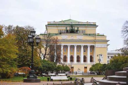 Le Théâtre Alexandrinski conçu par Bazaine