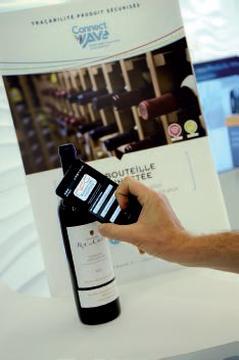 Au ConnectWave de CNRFID, repérage d'une bouteille de vin