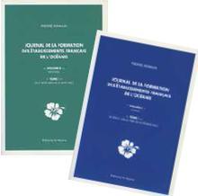 Livre : Volume I et II, tome I du JOURNAL DE LA FORMATION DES ÉTABLISSEMENTS FRANÇAIS DE L'OCÉANIE de Pierre Romain (53)