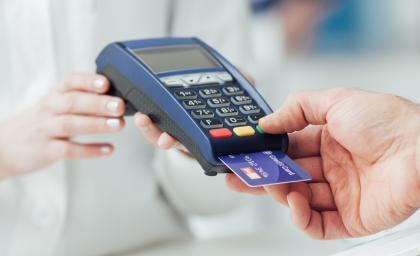 Terminal de paiement par carte