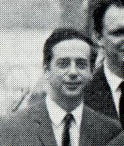 Lionel STOLERU en 1968, maître de conférences à l'École polytechnique