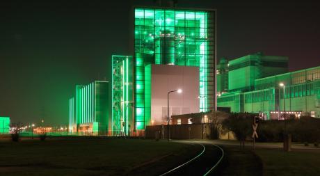 Les centrales à gaz ne sont pas exemptes de CO2. Ici, celle de Düsseldorf en Allemagne