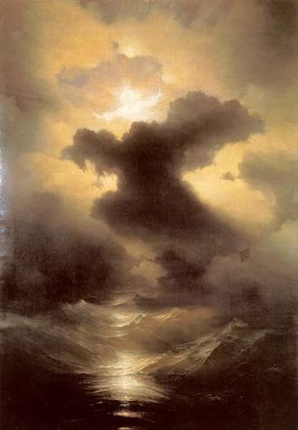 CHAOS, 1841, HUILE SUR TOILE, IVAN AIVAZOVSKY
