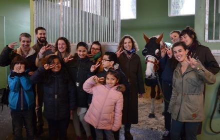 Sortie collective pour les enfants pris en charge par l'ESA