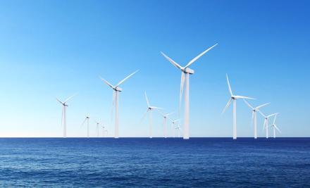 Éoliennes en mer