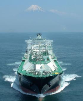 Navire en mer