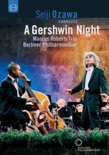 DVD : A Gershwin night par Seiji Ozawa