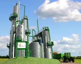 Biotechnologie : biogaz et bioraffinerie