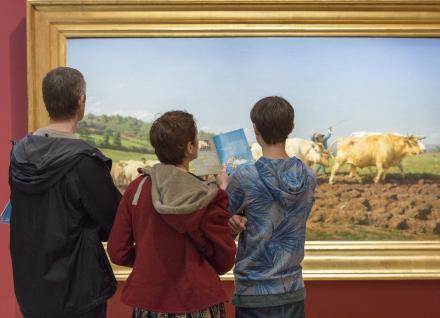 Bénévolat culturel dans un musée