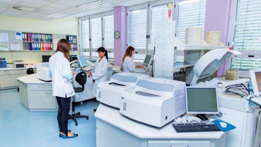 Laboratoire chez Def Systèmes