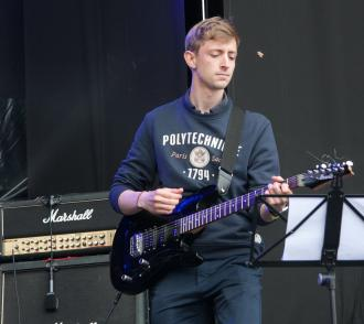 Guitariste polytechnicien