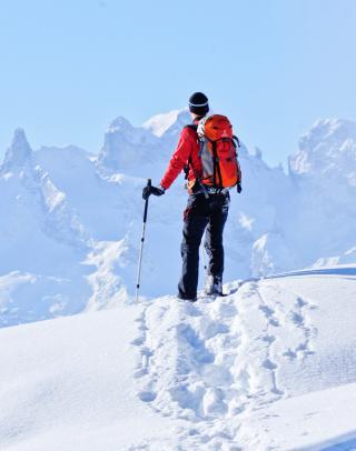 En accord avec soi-même, en skis