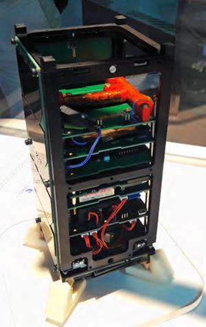 CubeSat réalisé par le Centre spatial étudiant de l'École polytechnique.